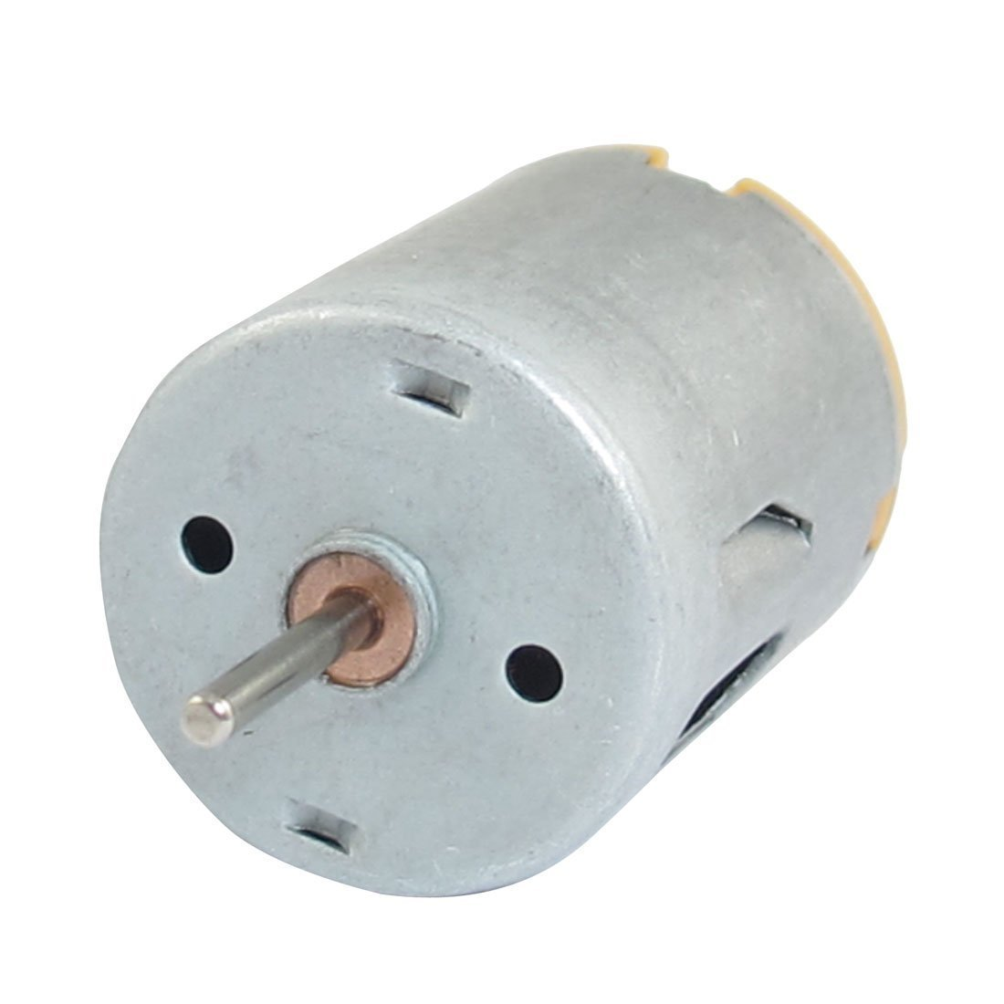 DC Motor - SODIAL(R) 8000RPM 9V 68mA High Torque Magnetic Cylindrical Mini DC Motor Silver
