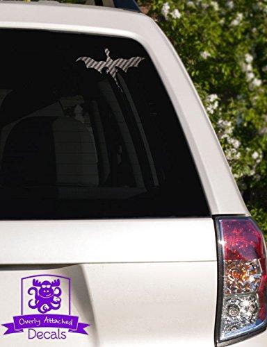 Dragon 1 Car Specialty Vinyl Decal - Carbon-Fiber