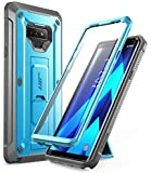 Samsung Galaxy Note 9 Case, SUPCASE Full-Body Rugged Holster Case with Built-in Screen Protector for Galaxy Note 9 (2018 Release), Unicorn Beetle Pro Series - Retail Package (Blue)