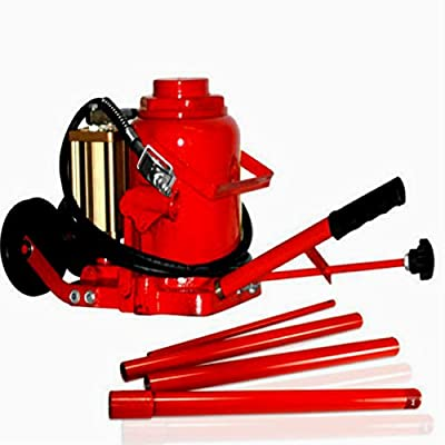 Car Air Lift Bottle Jack Hydraulic Manual Auto Floor Tool Kit Pneumatic Lifter 50 Ton Capacity All Purpose Garage Repair Machine - Skroutz