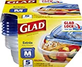 Glad BB13454PCS6 Food Storage Containers