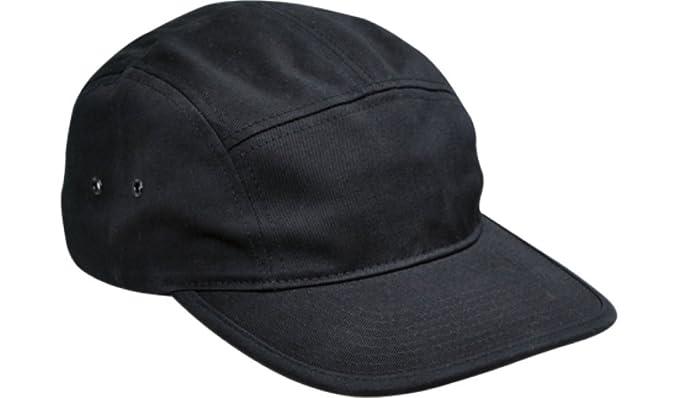0d545f9a8bd157 Flexfit Blank Clip-Closure Classic Adjustable Jockey Hat #7005 (Black)