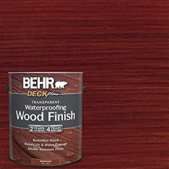 Exterior deck fence siding wood waterproofing redtone behr - Behr exterior wood stain reviews ...