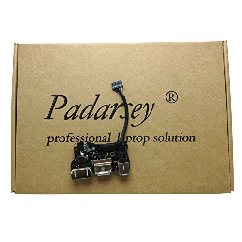 Padarsey New DC-IN Jack I/O Board fit for Apple MacBook Air 13