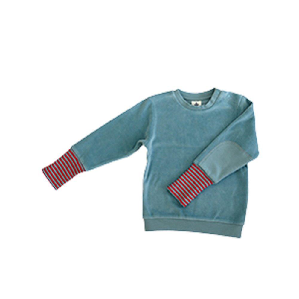 Leela Cotton Baby/Kinder Nicky Sweat-Shirt Bio-Baumwolle