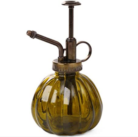 GLASS /& BRASS GARDENING /& PLANTING MISTER DECORATION SPRAYER WATERING CAN GIFTS