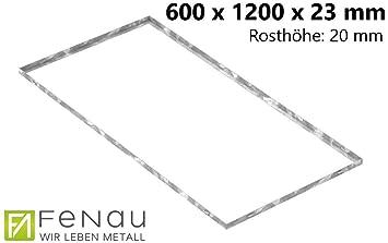 Fenau | de rejilla zarge Dimensiones: 600 x 1200 x 23 mm ...
