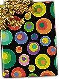 24'' X 15' Dizzy Circles Gift Wrap