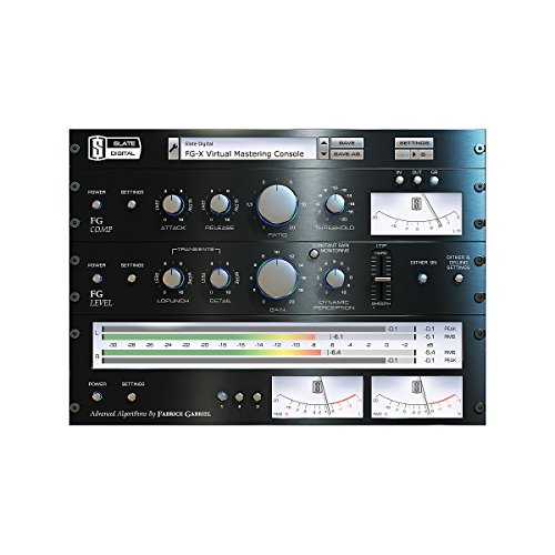 Slate Digital FG-X Virtual Mastering Pro - Vst Plug In Shopping Results