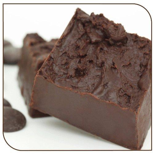 Mo's Fudge Factor, Dark Chocolate Fudge, 1 pound - Fudge Bittersweet Chocolate