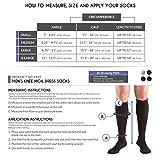 Truform Men's Knee High 20-30 mmHg Compression