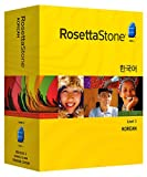 Rosetta Stone Version 3: Korean Level 1 with Audio Companion