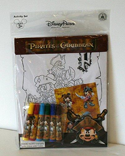 Caribbean Activity - Disney Parks Activity Set Pirates of the Caribbean