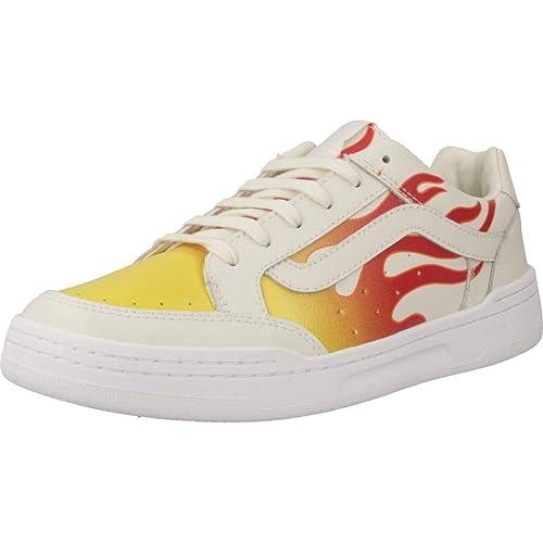Calzado Deportivo para Mujer, Color Beige, Marca VANS, Modelo Calzado Deportivo para Mujer VANS UA Highland Beige: Amazon.es: Zapatos y complementos