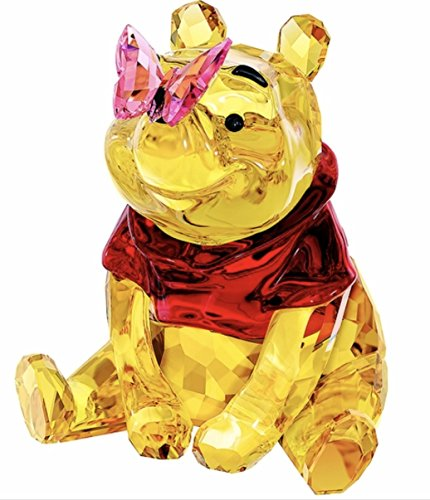 Swarovski Winnie the Pooh with Butterfly (Swarovski Collectible Figurine)