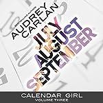 Calendar Girl: Volume Three: July, August, September | Audrey Carlan