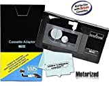 Motorized VHS-C Cassette Adapter For JVC C-P7U CP6BKU Review and Comparison