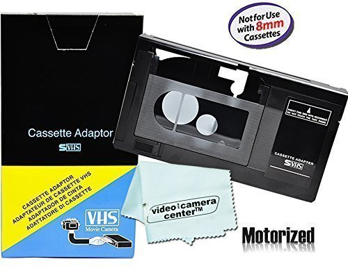 Motorized VHS-C Cassette Adapter For JVC C-P7U CP6BKU for sale  Delivered anywhere in USA