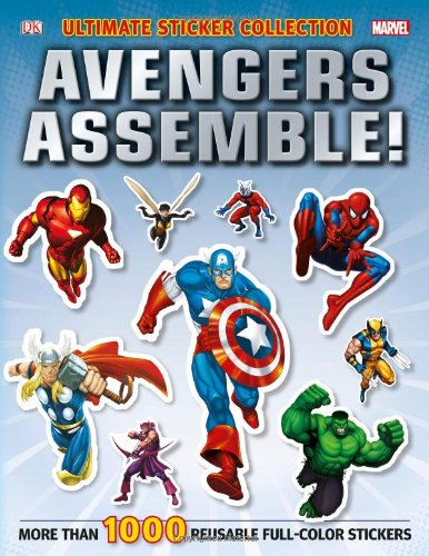 Ultimate Sticker Collection: Marvel Avengers: Avengers Assemble! (Ultimate Sticker Collections) (Superhero Sticker Book)
