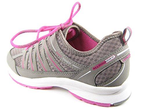 Allrounder Da Mephisto Darina T.nubuk 60/60 C.mesh Damen Sneakers Grau