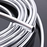 TOOGOO(R) Moulding Trim Strip 20FT Chrome