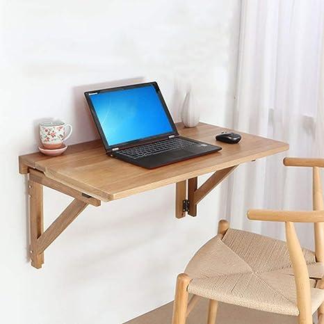 TXX Mesa de comedor plegable Mesa de estudio de madera ...