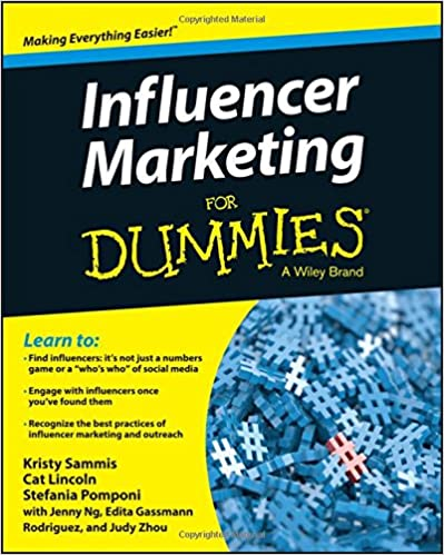 Cover des Buchs: Influencer Marketing FD (For Dummies)