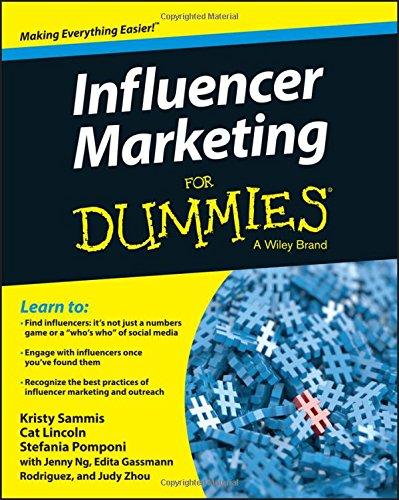 Influencer Marketing Dummies Kristy Sammis product image