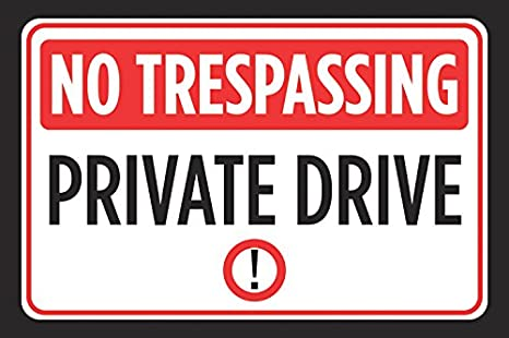 photo regarding Printable No Trespassing Signs titled No Tresping Own Enthusiasm Print Pink Black White Interest Imagine Emblem Road Street Behind Indication