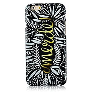 CuteFaiy Cases For Apple Iphone Mimosa Pudica Pattern Hard Back Case for iPhone 6