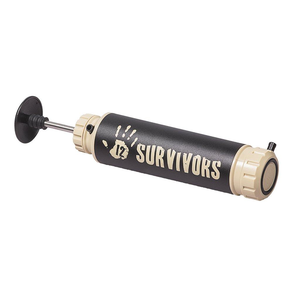12 SURVIVORS Water Purifier Hand Pump, Weiß, S