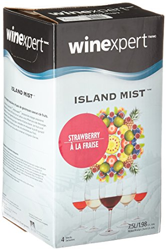 Merlot Strawberry Wine (Midwest Homebrewing and Winemaking Supplies B0064CZIQE FBA_Does Not Apply Strawberry White Merlot (Island Mist))
