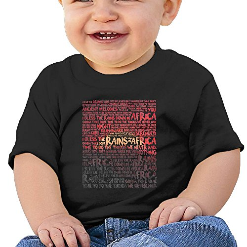 Africa - Toto Washed Cotton Baby Boy Shirt Cute Summer T Shirt Funny by Quxueyuannan
