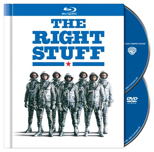 Blu-ray : The Right Stuff (Full Frame, Anniversary Edition, AC-3, , Digibook Packaging)