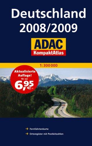 ADAC KompaktAtlas Deutschland 2008 2009