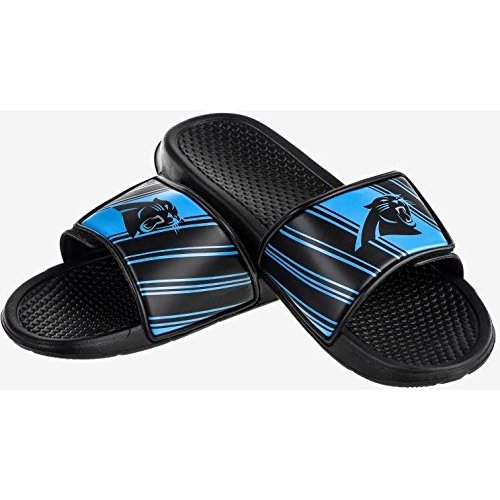 Carolina Panthers NFL Mens Legacy Sport Slide - L