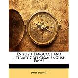 English Language and Literary Criticism: English Prose