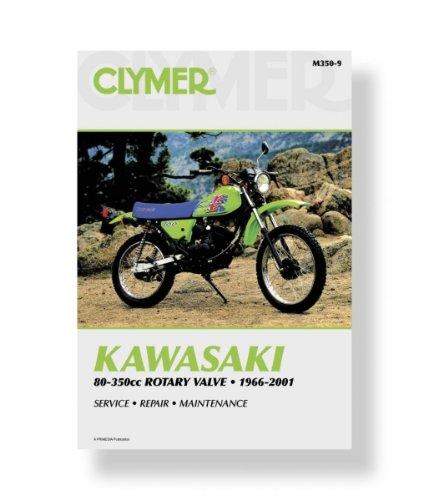 kawasaki singles rotary valve full service repair manual