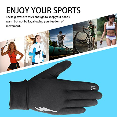 SHARBAY Unisex Touch Screen Gloves - Winter Warm Thermal Gloves Outdoors Gloves Cycling Gloves Running Gloves Cold Weather Gloves Texting Gloves Driving Gloves for Men and Women
