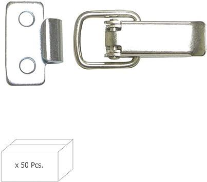 WOLFPACK LINEA PROFESIONAL 1022305 Cierre Enganche Plano 60 mm. (Caja 50 Unidades): Amazon.es: Bricolaje y herramientas