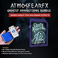 Atmosfearfx Ghostly Apparitions SD Card Media Player. Replaces Bulky DVD Player