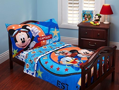 - Disney Baby Mickey Mouse Toddler Bed Set