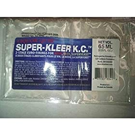 1 X Super-Kleer KC Finings