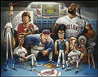 The Tribe. A Tribute to Major League Giclée Print