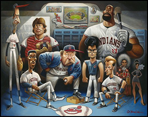 The Tribe. A Tribute to Major League Giclée Print 22