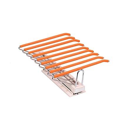 Fkdeyijia Perchero extraíble de Aluminio Naranja, Porta ...