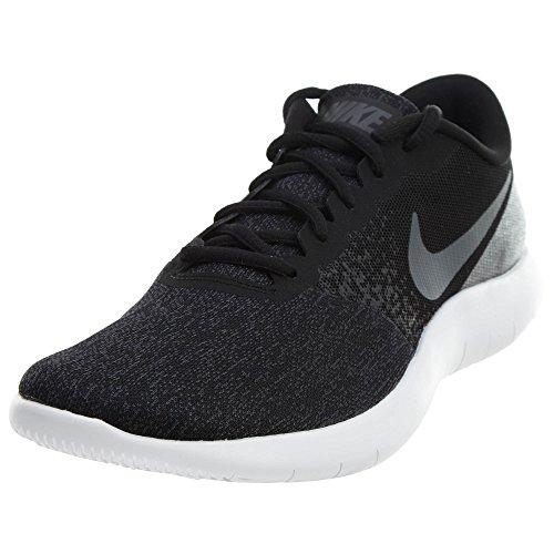Nike Men's Flex Contact Running Shoe Black Dark Grey Anthrac