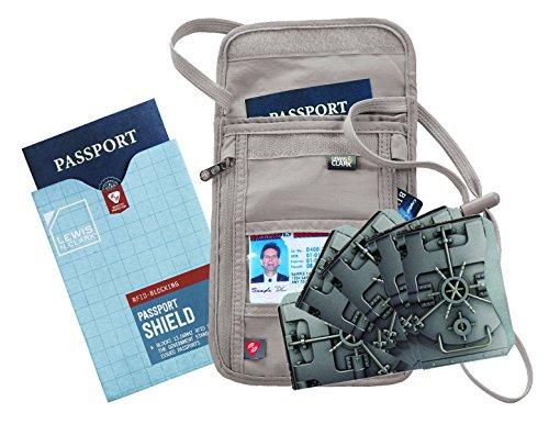 travel-wallet-money-belt-lewis-n-clark-rfid-neck-stash-tan-1-rfid-passport-shield-and-5-credit-card-