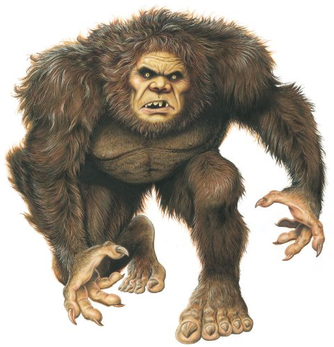 "Mythical Monsters Wall Decals - Bigfoot 24"" Removable Wall Graphic"
