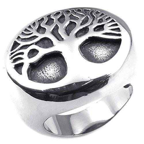 KONOV Stainless Classic Gothic Silver
